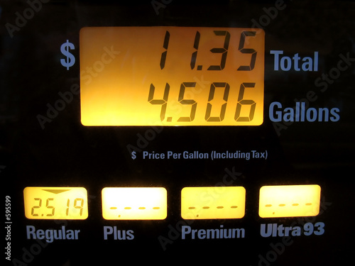Fotografija  gas pump prices