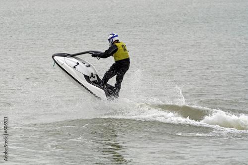 Foto op Plexiglas Water Motor sporten jet-ski