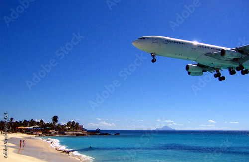Photo st maarten - juliana airport