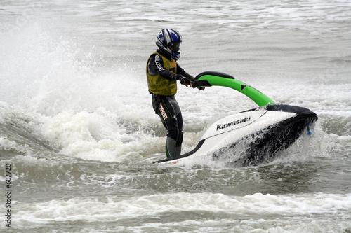 Foto op Plexiglas Water Motor sporten jet ski