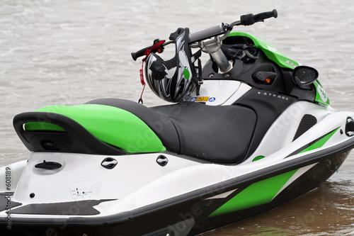 Garden Poster Water Motor sports jet ski vert