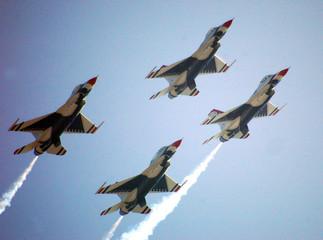 Fototapeta Militaria usaf thunderbirds