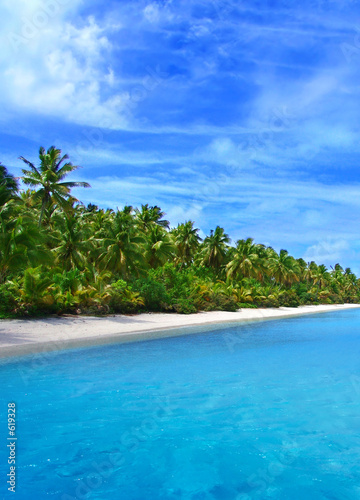Foto-Leinwand - tropical coast