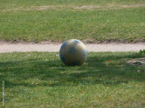 Papiers peints Jardin ballon de foot
