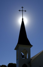 Church Spire And Belfry