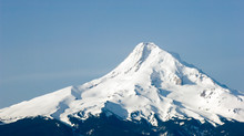Close Up Of Mt. Hood