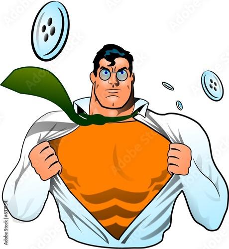 superbohater-na-bialym-tle-komiks