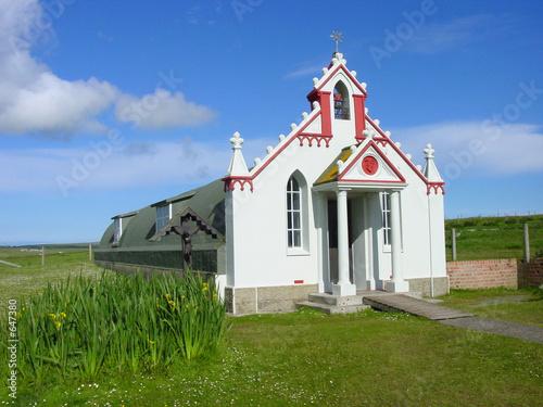 Canvas-taulu italian chapel