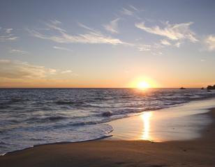 Obraz malibu sunset