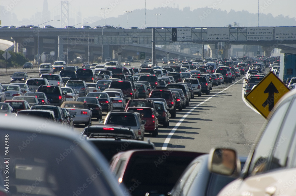Fototapety, obrazy: major traffic jam 2