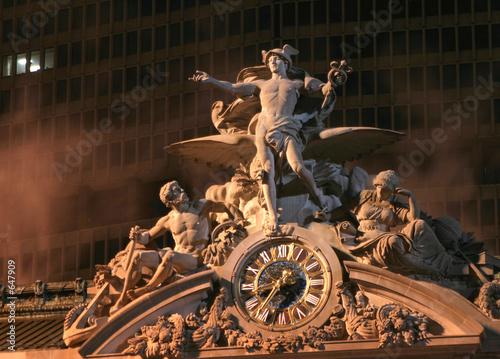 grand central statue Fototapet