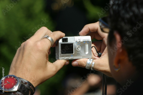 Fototapeta snappy camera obraz na płótnie