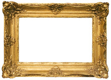 Gold Plated Wooden Picture Fra...