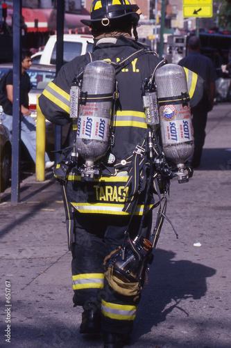 Photo  firefighter
