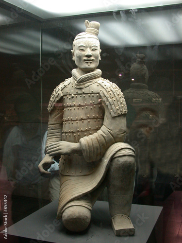 Foto op Aluminium Xian emperor qin's terra-cotta warriors and horses muse