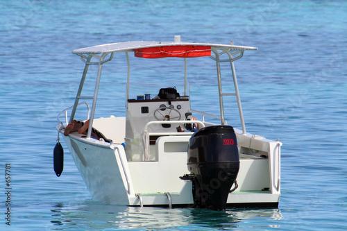 small motor boat