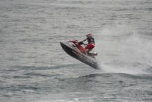 Jet Skier Jump