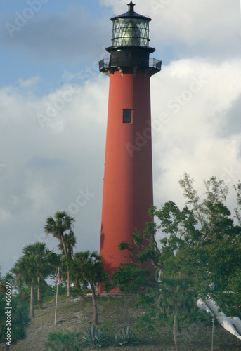 Foto op Aluminium Vuurtoren jupiter lighthouse