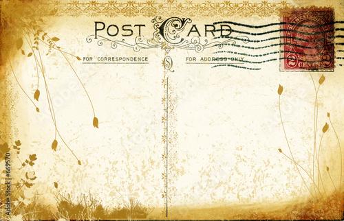 Fotografia  aged postcard
