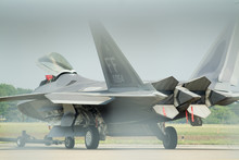 F22 Raptor Rear View