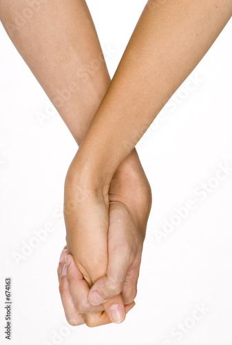 Fototapeta holding hands obraz
