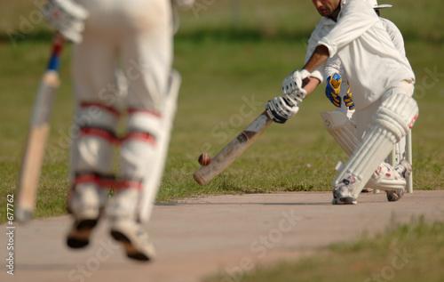 Obraz na płótnie english cricket match