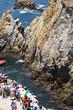 cliffs diving of acapulco