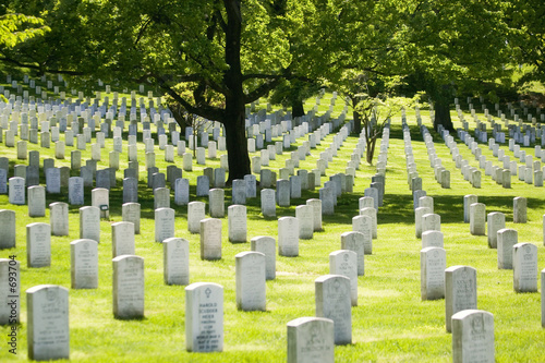 Foto op Canvas Begraafplaats arlington national cemetery