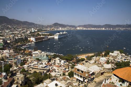 Fotografija  acapulco bay overlook
