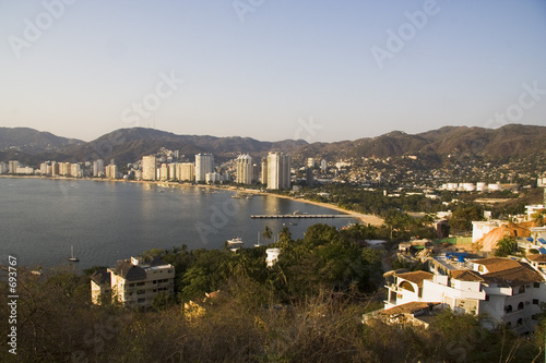 Fotografija  acapulco at sunset