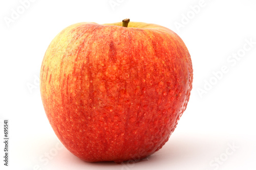 Photo  red apple
