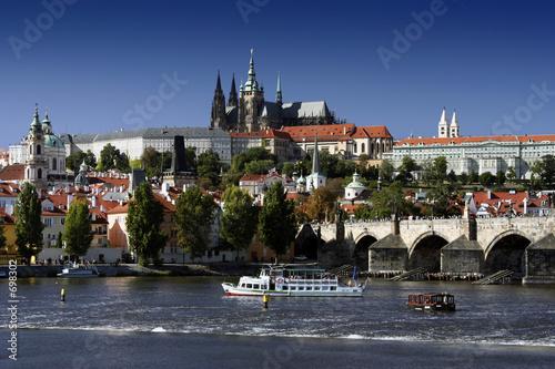 Staande foto Praag prague castle