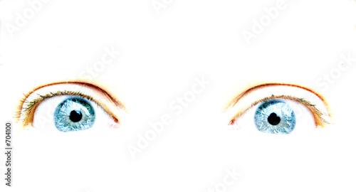 Fotografie, Obraz  yeux
