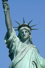 Upper Liberty Statue Front