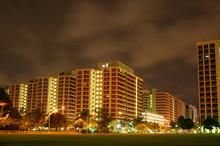 Hdb Apartments Singapore Night