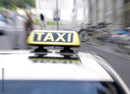 Fotografering taxi