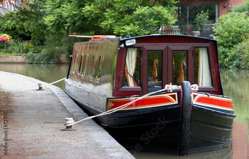 barge life Fototapeta