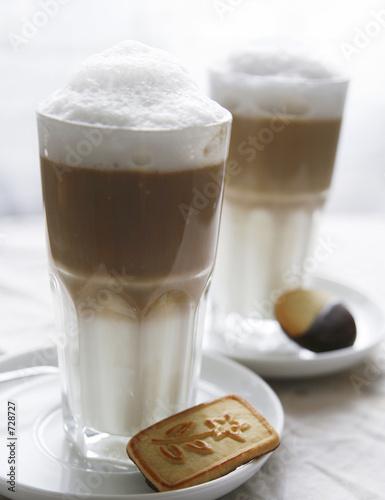 Fotografie, Obraz  latte macchiato