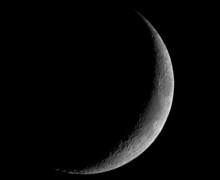 Thin Crescent Moon