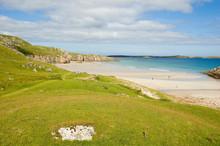 Sango Bay And Eilean Moar Isle