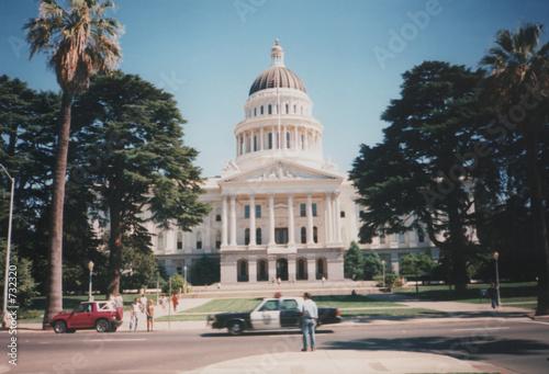 Poster Texas california state capital