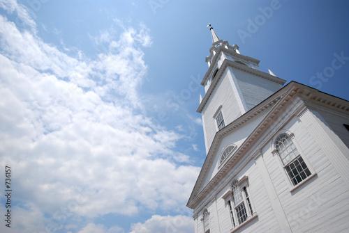 Obraz na plátne new england church