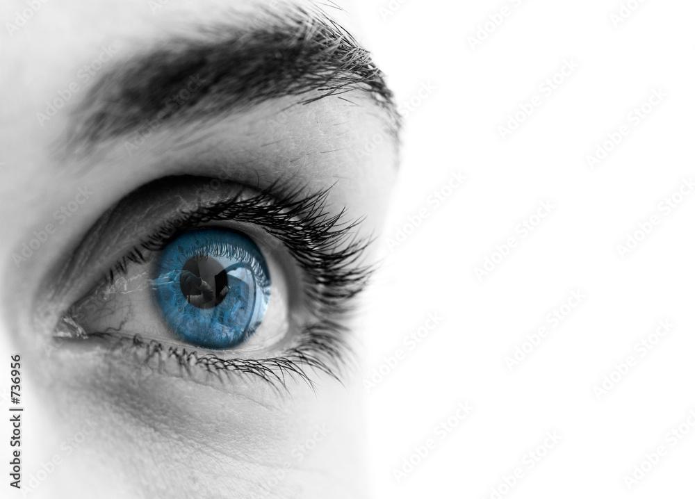 Fototapeta blue eye