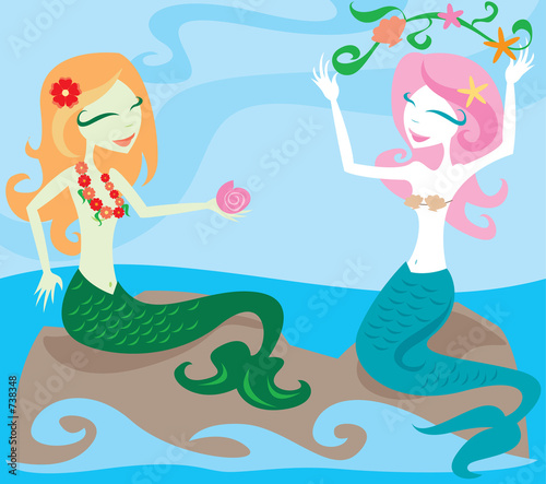 joyful mermaids