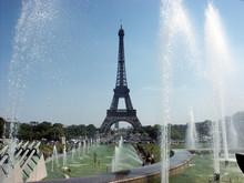 Paris Eiffel Tower And Fountain