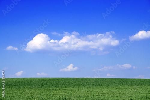 Recess Fitting Dark blue wunderschöne landschaft