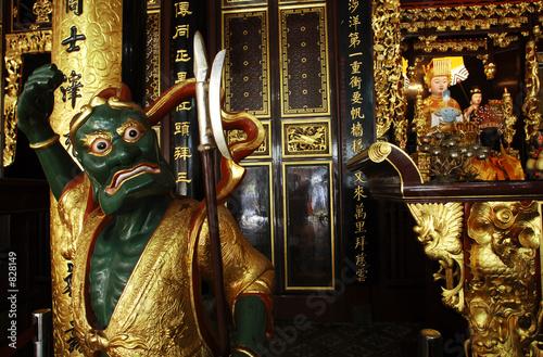 Photo  singapore: chinese temple thian hock keng
