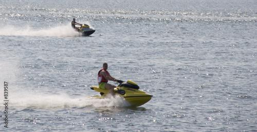 Poster Nautique motorise waterscooter