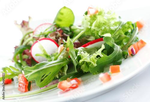 Fotografie, Obraz  mixed salad