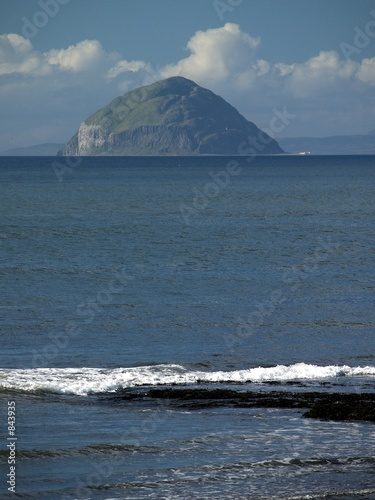 Photo ailsa craig